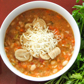 Chunky and Hearty White Bean Soup
