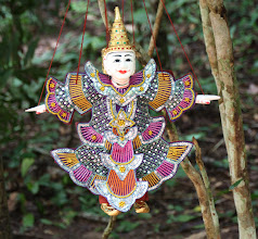 Photo: Year 2 Day 44 -   Puppet for Sale (Cambodia)