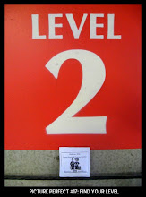 """Photo: Point values for this target: 3 Points for any sign with a """"2""""; 5 Points for any sign with """"Level""""; 7 Points for a sign with """"Level 2."""" Email your submission to contests@superficialgallery.com."""