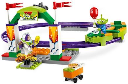 Contenido de Lego® 10771 Alegre Tren de la Feria