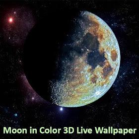 Moon in Color Live Wallpaper