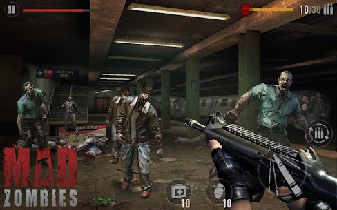 MAD ZOMBIES : Offline Zombie Games 7