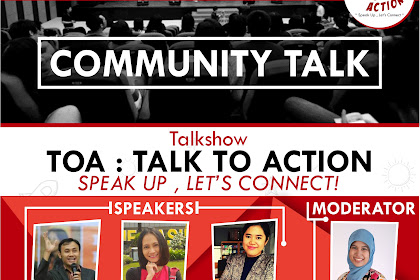 "A Community Talk: ""Talk To Action"""