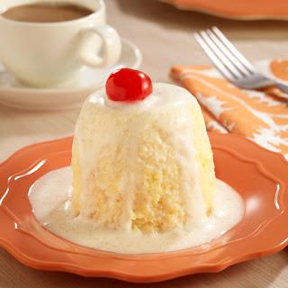 Tres Leches Mug Cakes