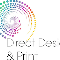 Direct Design and print icon