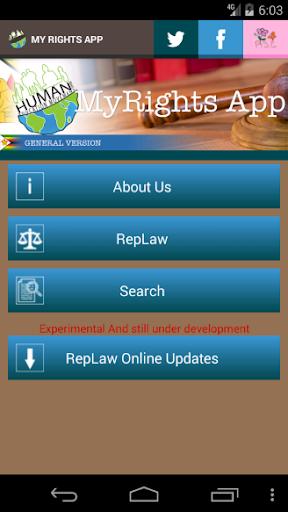 Zimbabwe Laws App  screenshots 2