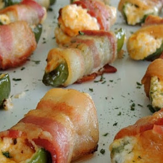 Jalapeno Peppers With Cream Cheese Wrapped In Bacon Recipes