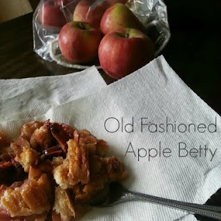 Old Fashioned Apple Betty