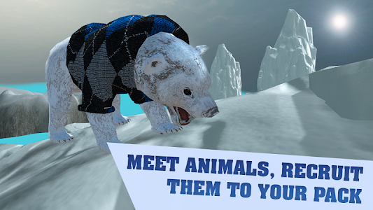 Arctic Bear Survival Simulator screenshot 3