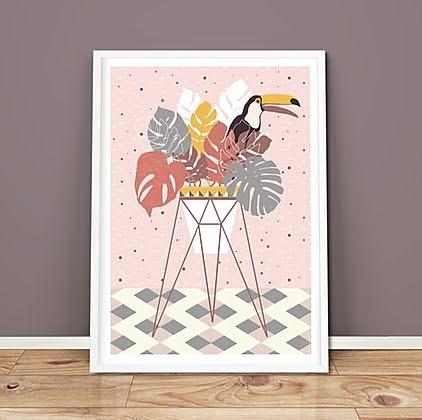 Poster Tucana Pink 50x70 cm