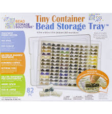 Elizabeth Wards Tiny Bead Storage Tray 13.75X10.5X1.75