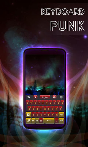 玩免費個人化APP|下載パンクのテーマキーボード app不用錢|硬是要APP