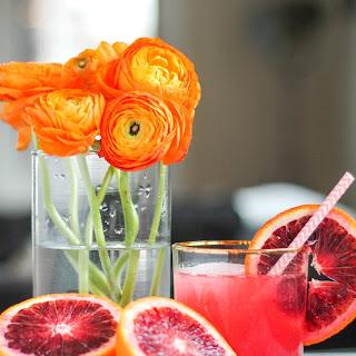 Blood Orange Gin and Tonics Recipe