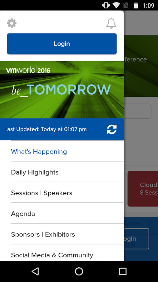 VMworld 2016 Europe- screenshot