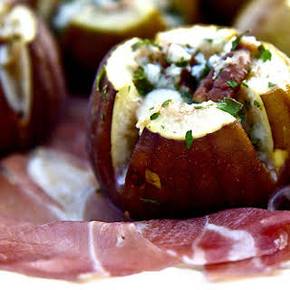 Blue Cheese Stuffed Figs with Speck.