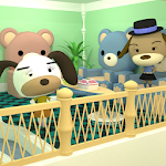 Chotto Escape 014 : Room with bear sofa icon