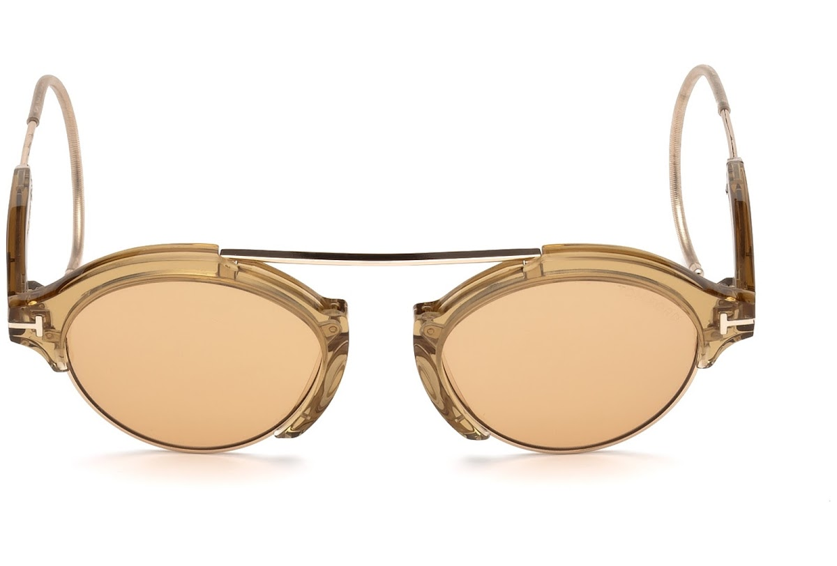 05b5071433425 ... Tom Ford Farrah-02 FT0631 C49 45E (shiny light brown   brown). Sale