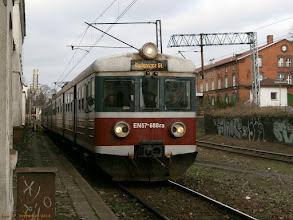 Photo: EN57-688, Toruń Wschodni - Bydgoszcz Główna {Toruń Miasto; 2013-01-04}