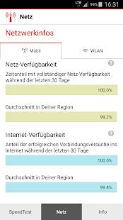 Vodafone SpeedTest- screenshot thumbnail