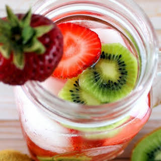 Strawberry Kiwi Sangria.