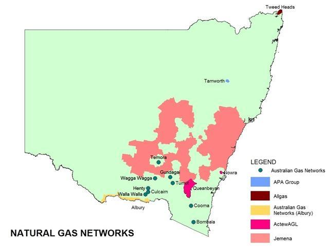 Natural Gas Networks