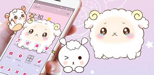 Cartoon Sadness Sheep Theme Aplikasi Di Google Play