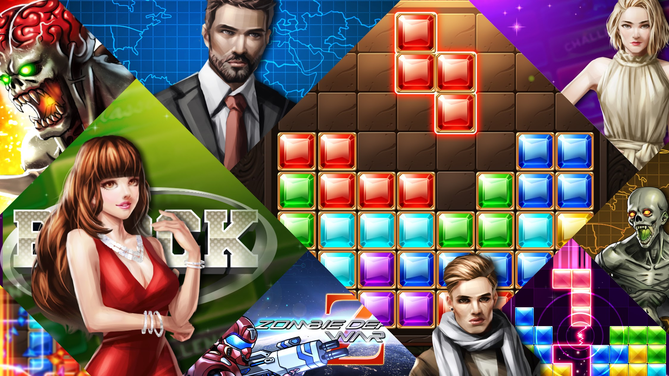 Amazing Block Puzzle Legend Games