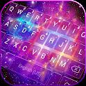 Galaxy Starry Keyboard Background icon
