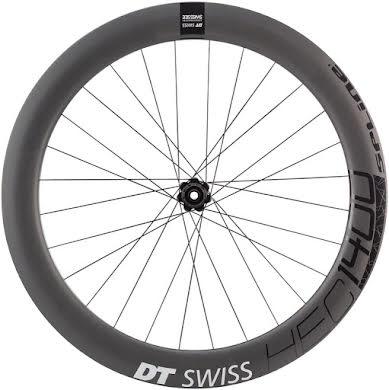 DT Swiss HEC 1400 Spline 62 Rear Wheel - 700, 12 x 142mm, Center-Lock/6-Bolt, HG 11/ XDR, Black alternate image 2
