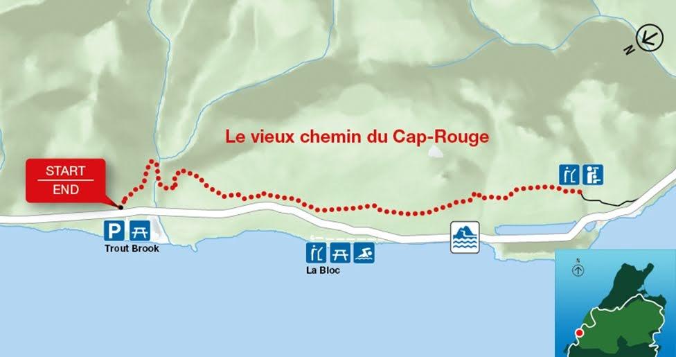 Le vieux chemin du Cap-Rouge, Park Narodowy Cape Breton Highlands