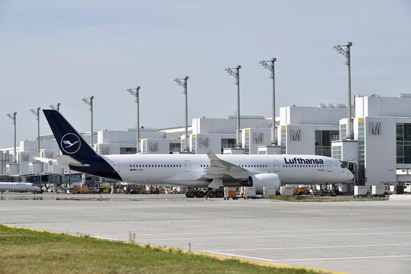A Lufthansa Aircraft/COURTESY