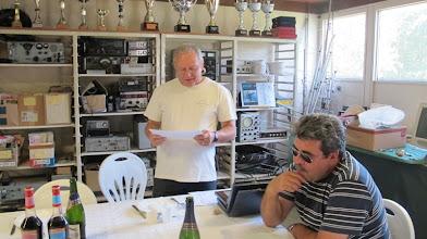 Photo: Annonce des récompenses de la Corrèze au CdF 2011