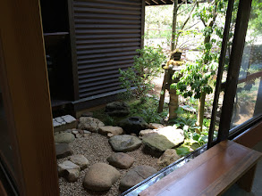 Photo: 茶室の中庭です