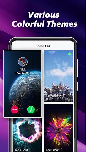 PC u7528 Color Call - Color Phone Call screen, LED Flash 1