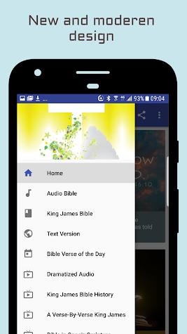 King James Bible - KJV Audio Screenshot