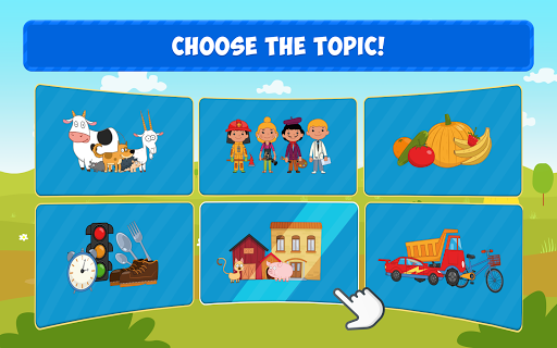 Blue Tractor: Learning Games for Toddlers Age 2, 3 1.0 screenshots 7