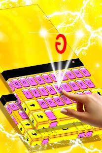 Shiny Keyboard - náhled