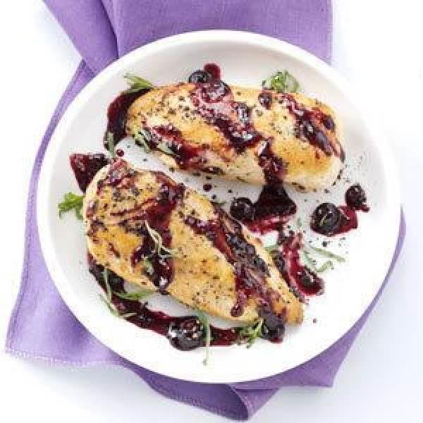 Blueberry-dijon Chicken Recipe