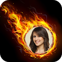 Fire Photo Frames icon