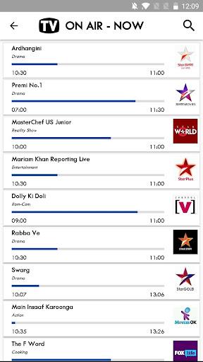 TV India Free TV Listing 5.8 screenshots 2