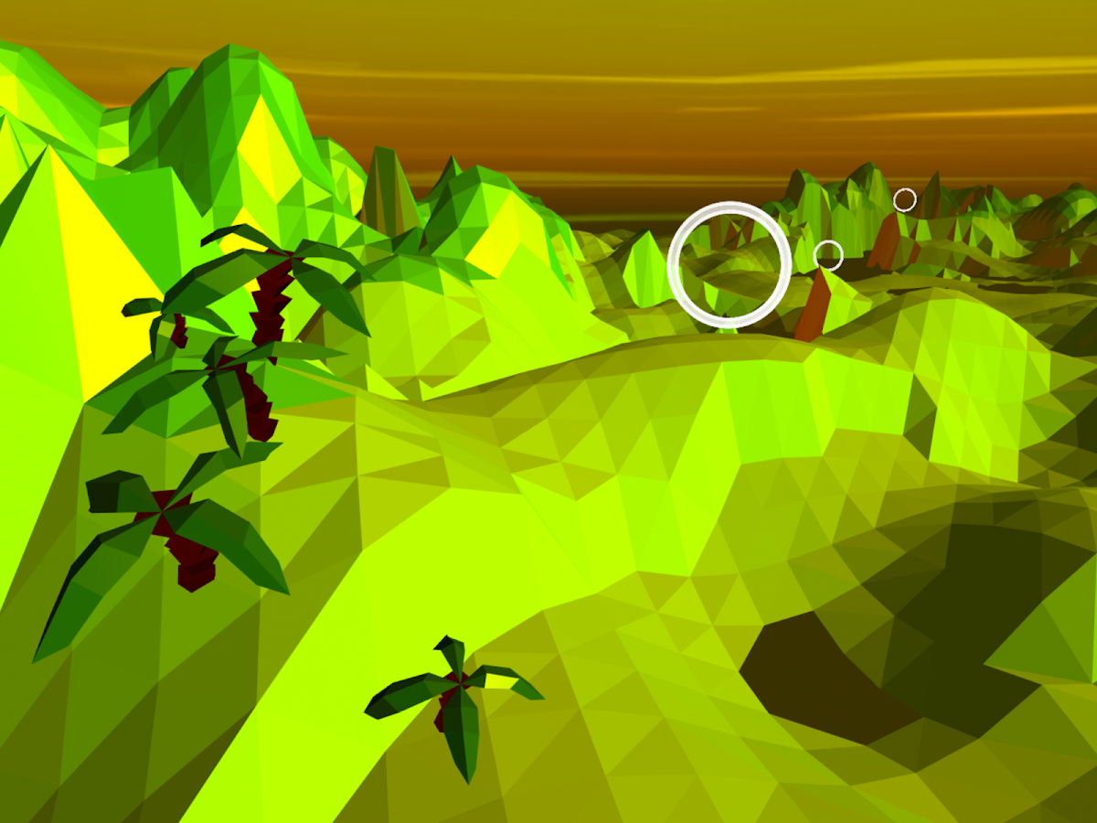 Pioneer Skies 3D Racer- screenshot