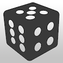 Ad Free Dice Roller D6, D8, D20 and more icon