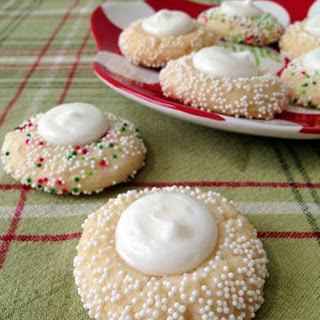 Thumbprint Sugar Cookies With Icing Recipes