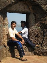 Photo: Amit and Me at Ratndurg