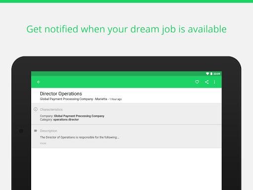 Find job offers - Trovit Jobs 4.41.0 screenshots 8