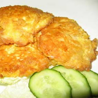 Fried Hake Fillets in Cheese Batter