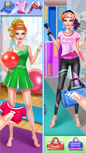 ud83dudc67ud83dudc57Sports Girl Makeup - Keep Fit  screenshots 3