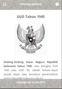 UUD 1945 Offline- screenshot thumbnail