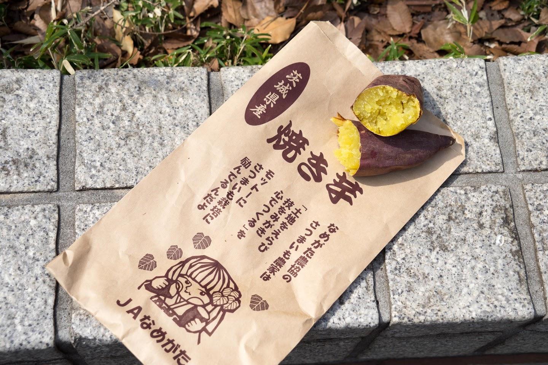 「紅まさり」の焼き芋