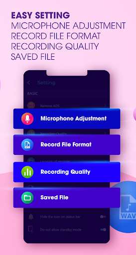 Audio Recorder Noise Cancellation & High Quality screenshot 4